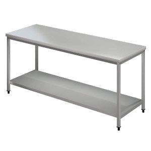Τραπέζι Εργασίας Inox (Ανοικτά)