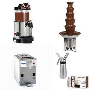 Σοκολατιέρες - Μηχανές Αφρόγαλα - Σαντιγιέρες